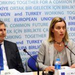 Хан, Могерини, Столтенберг и Нимиц за договорот на Македонија со Грција