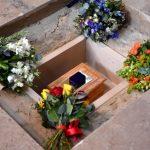 Стивен Хокинг почива покрај Њутон и Дарвин