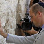 Принцот Вилијам го посети Ѕидот на плачот и гробот на својата прабаба