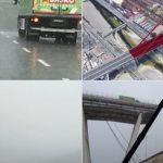Срушениот мост затрупа автомобили и луѓе: Морничави снимки од воздух од катастрофата во Џенова