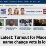 ФОТО: Меѓународните медиуми најавуваат пропаѓање на референдумот