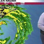 """Ураган ,,Флоренс"""" : Среде програма , евакуација на телевизијата"""
