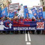 """Протести во Полска: Не се живее од плата до плата. Ние гладуваме"""""""