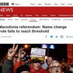 Резултатот од референдумот на насловните страници на светските медиуми