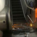 ВИДЕО ОД ТРАГЕДИЈА: 30 руски навивачи повредени во римското метро кога полуде ескалаторот