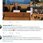 Хан ќе бара објаснувања од Орбан