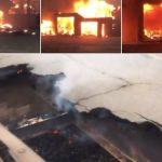 Калифорнија: Мост од челик се топи, новинар на Ројтерс остана заробен во пожарот