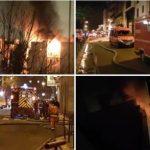 ВИДЕО: Пожар голта зграда во Париз – 8 загинати, 28 повредени, луѓето бегаат на кров да си го спасат животот