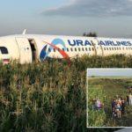 Птици влегле во моторите – Руски авион слетал во поле, 23 патници се повредиле