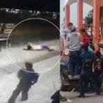 Го врзале градоначалникот за камион и го влечкале по патот – не ги поправал улиците (ВИДЕО)