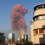 ВИДЕО: ЗастрашувачкА експлозијата во Бејрут, најмалку десетмина загинати