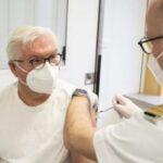 Германскиот претседател се вакцинираше со АстраЗенека