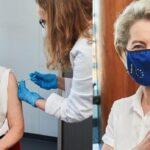 Урсула фон дер Лајен ја прими првата доза вакцина